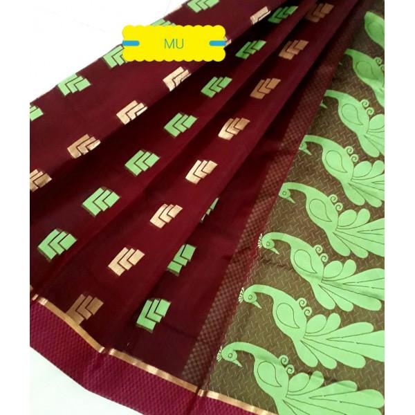 saree 03 brown